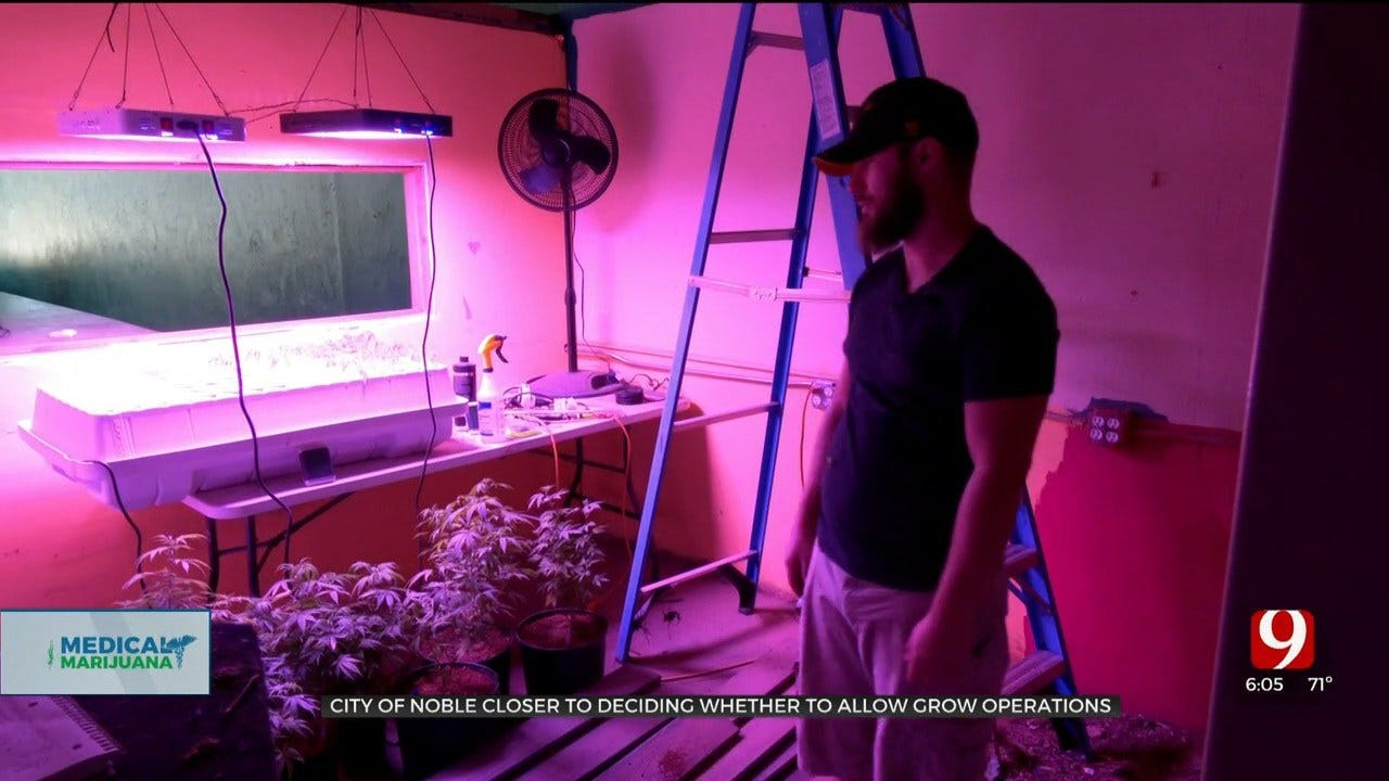 Noble City Council Debates Whether To Allow Medical Marijuana Grow Operations To Open