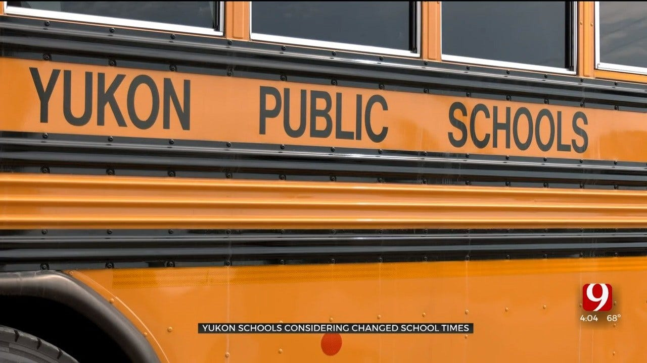 Yukon Proposes New School Hours Across District, Prompting Parental Concerns