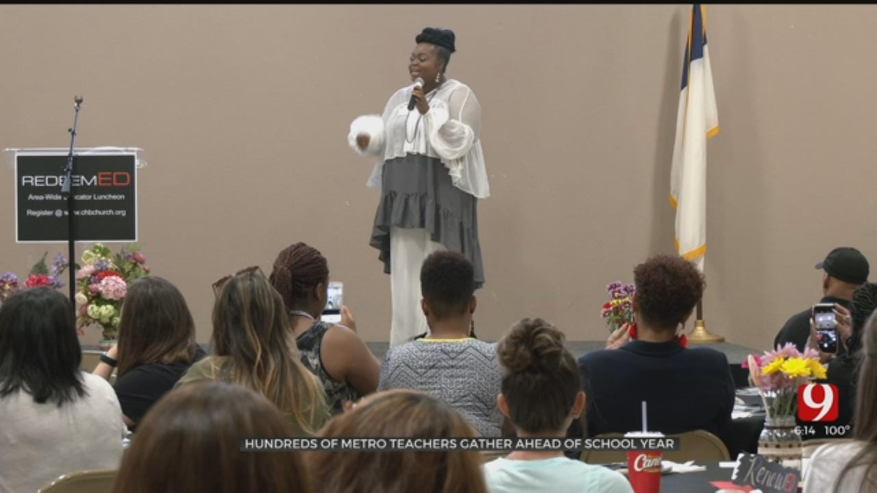 Inaugural 'RedeemED Conference' Encourages Teachers Ahead Of School Year