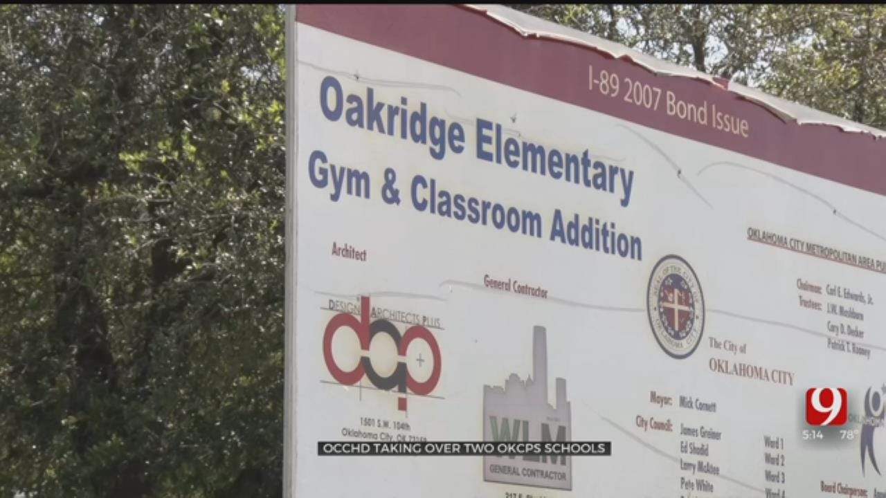 OKC-County Health Department Announces Plans To Take Over 2 OKCPS Schools