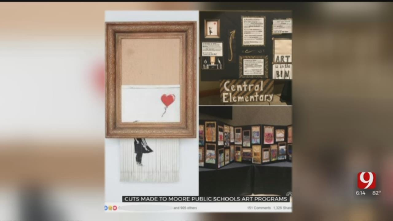 Elementary Students Take Action After Learning Moore Schools Will Cut Art Programs