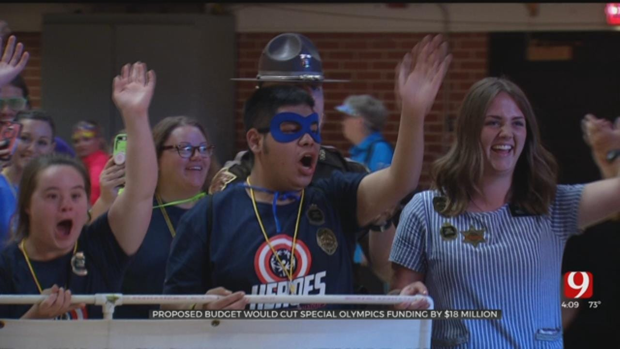 Oklahomans Respond To Proposed Federal Cuts To Special Olympics Program