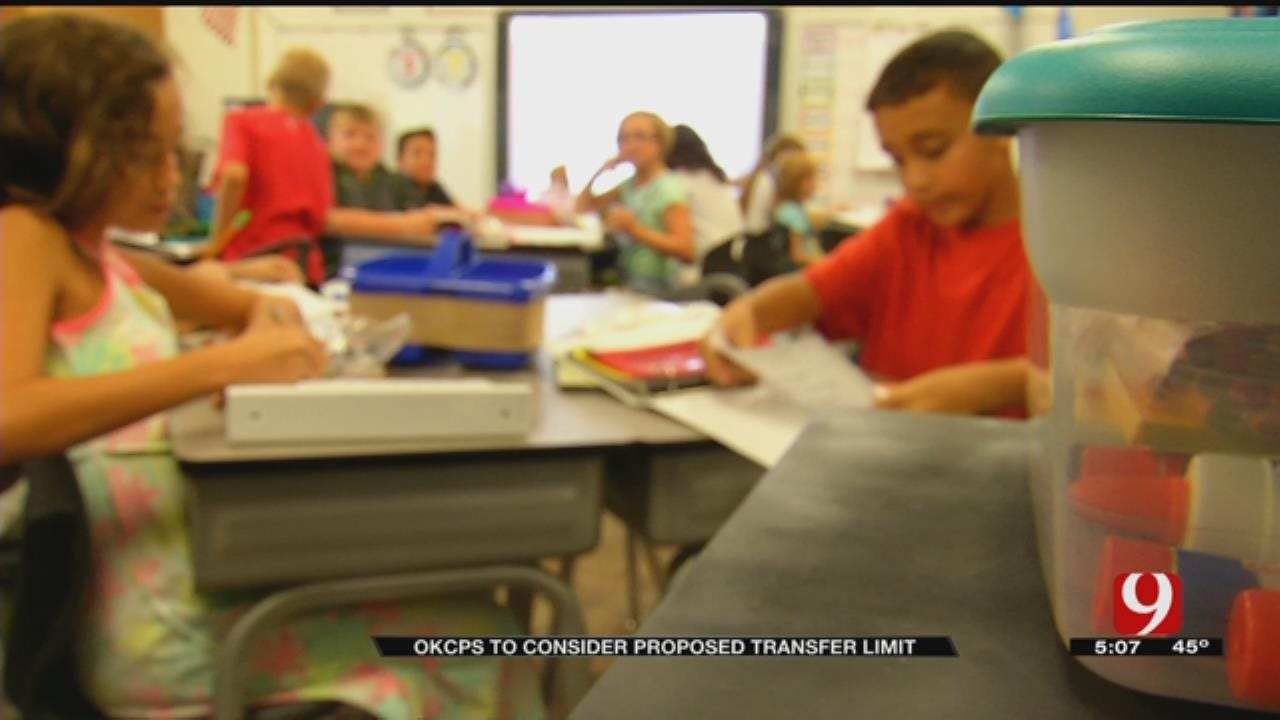 OKCPS Wants To Change Student Transfer Policy