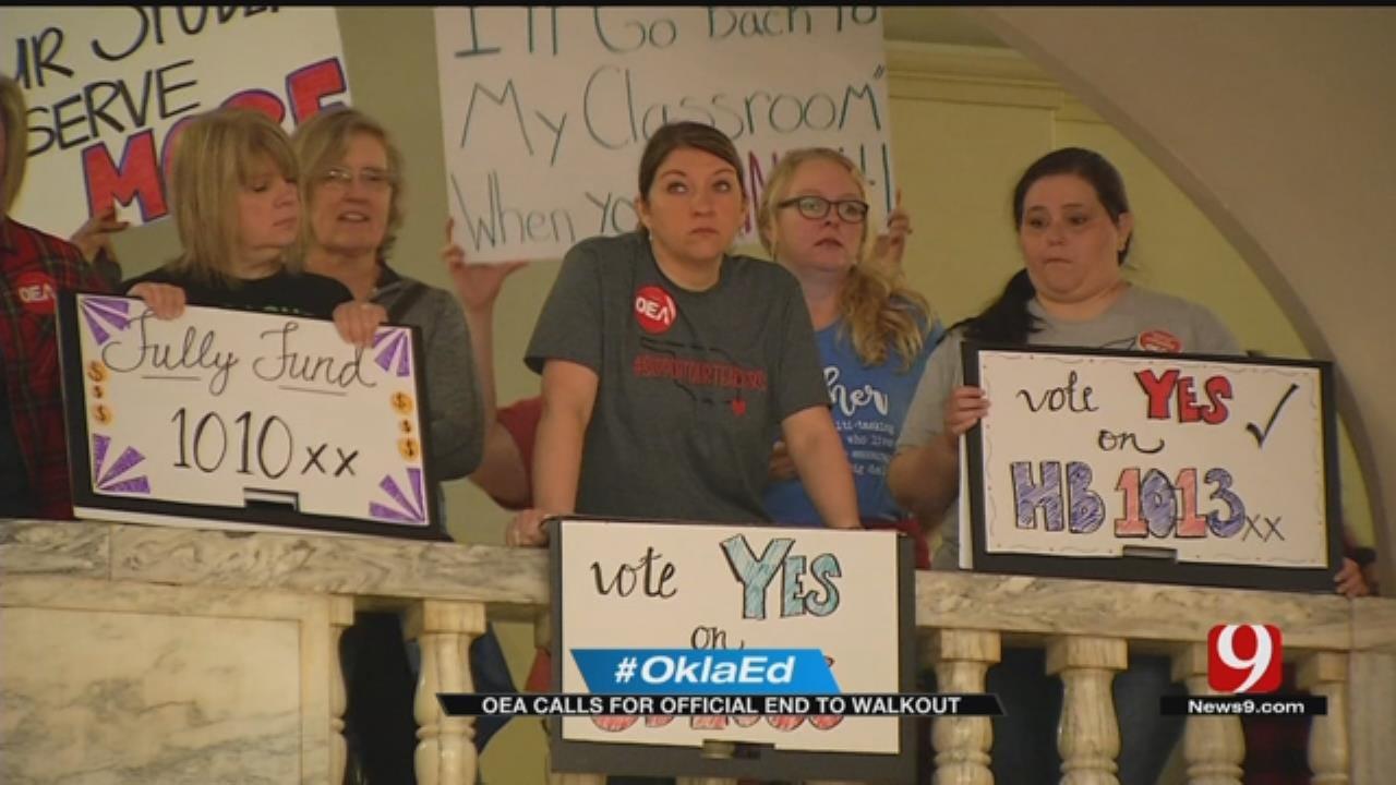 OEA Announces End To Teacher Walkout