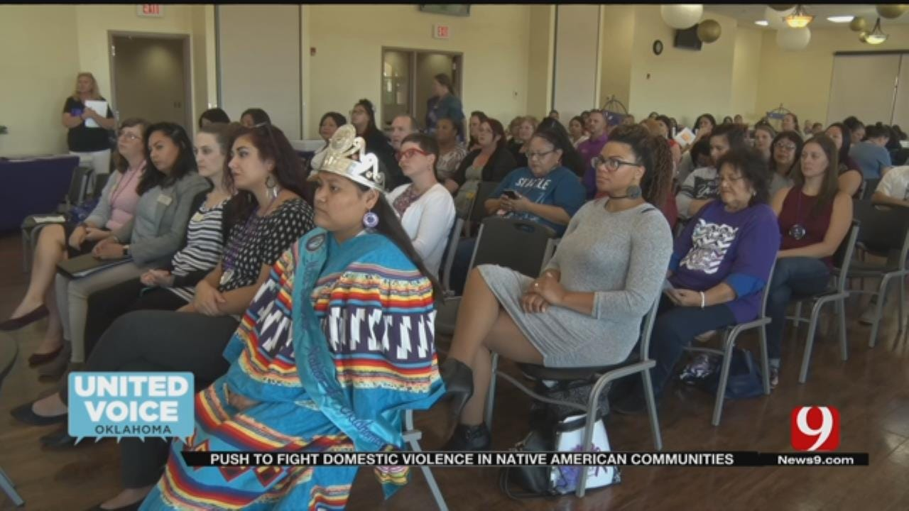 United Voice: Tribes Join Forces To Combat Domestic Violence