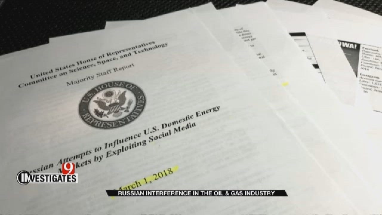 News 9 Investigates: Russian Interference In The Oil And Gas Industry