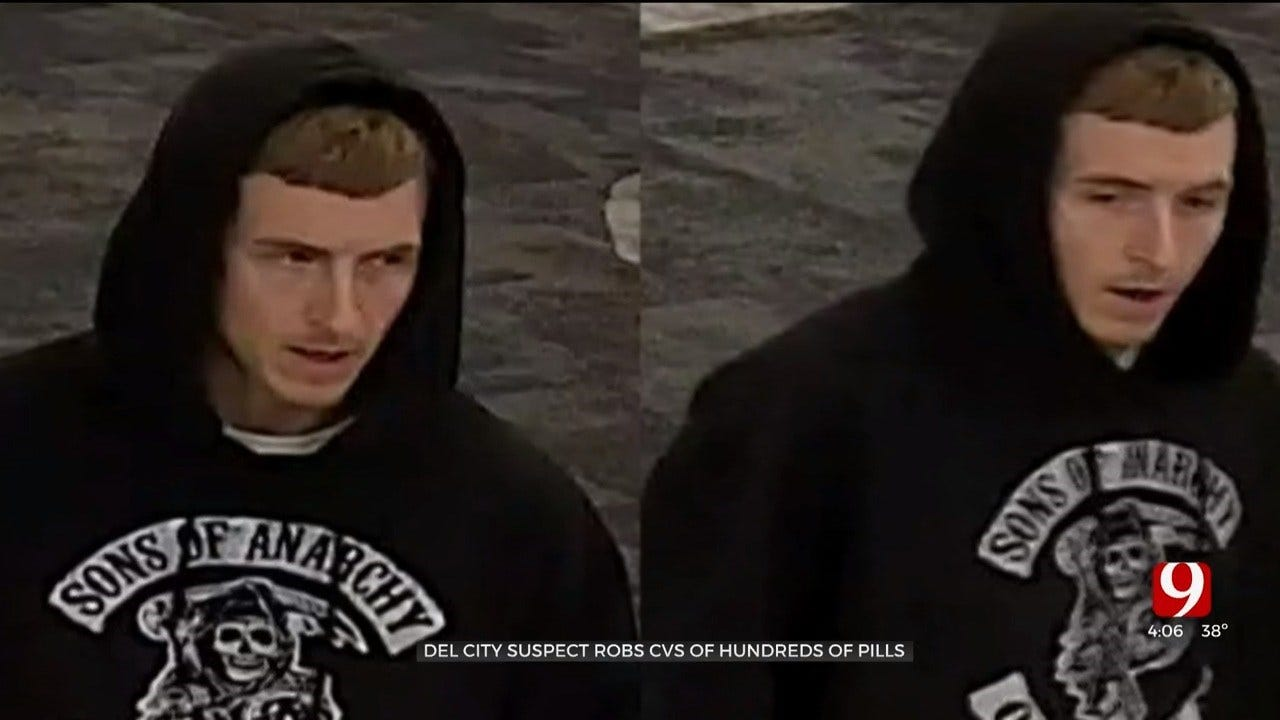 Del City Pharmacy Robbery Nets $6,000 In Pills