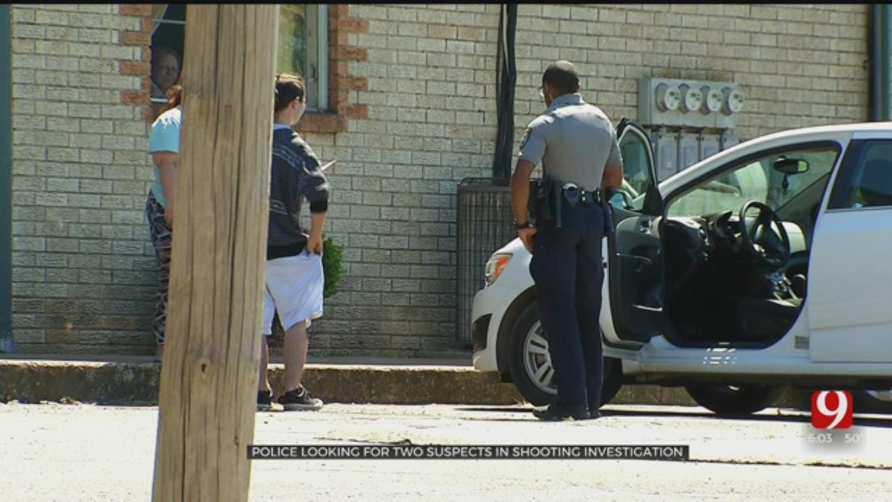 Police Searching For 2 Suspects In Shooting At OKC Apartment Complex