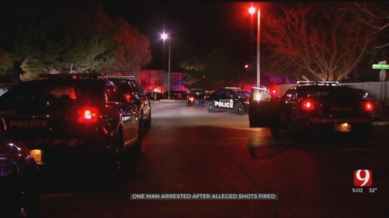 OKC Man Arrested After Firing Shots At Neighbor