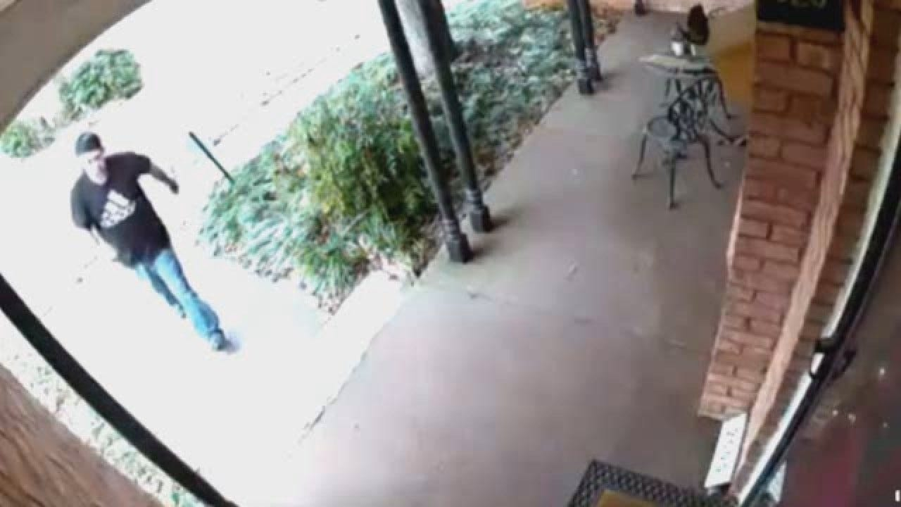 WATCH: Do You Recognize This 'Porch Pirate'?