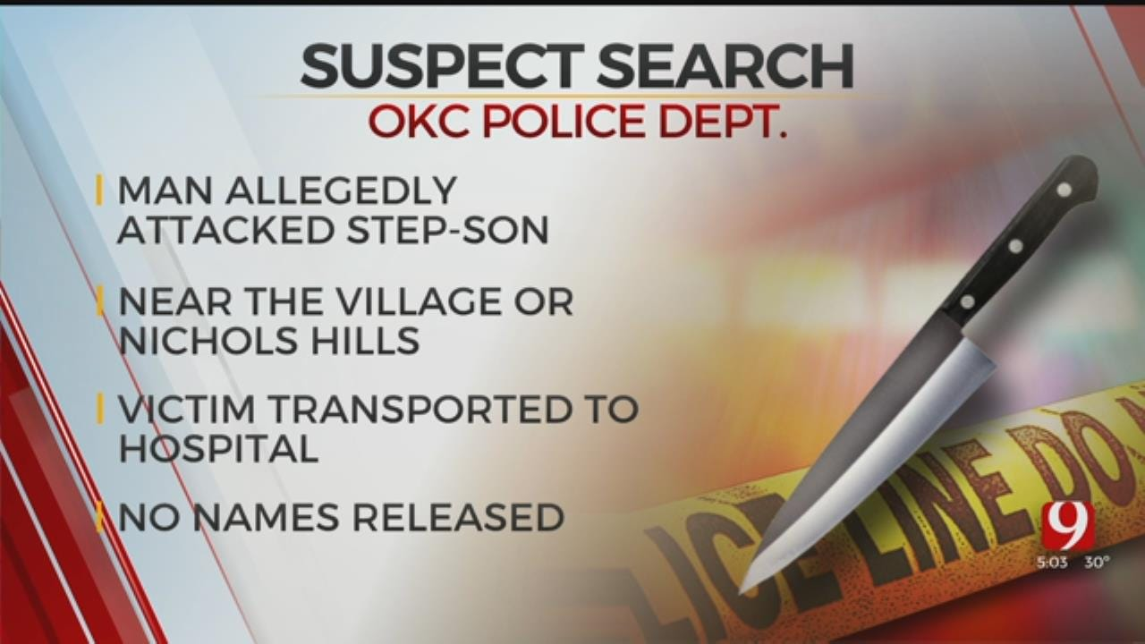 Police Searching For Suspect After Stabbing In NW OKC