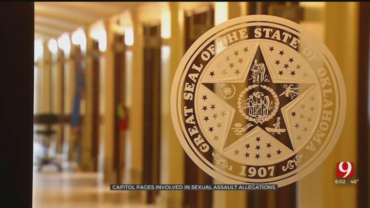 State Legislature's Page Program Suspended Amid Sexual Assault Allegation