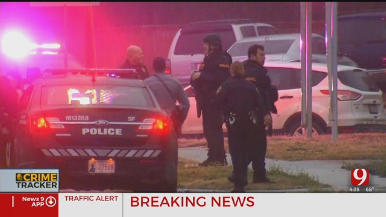 4 Arrested After Standoff At Alleged Drug House