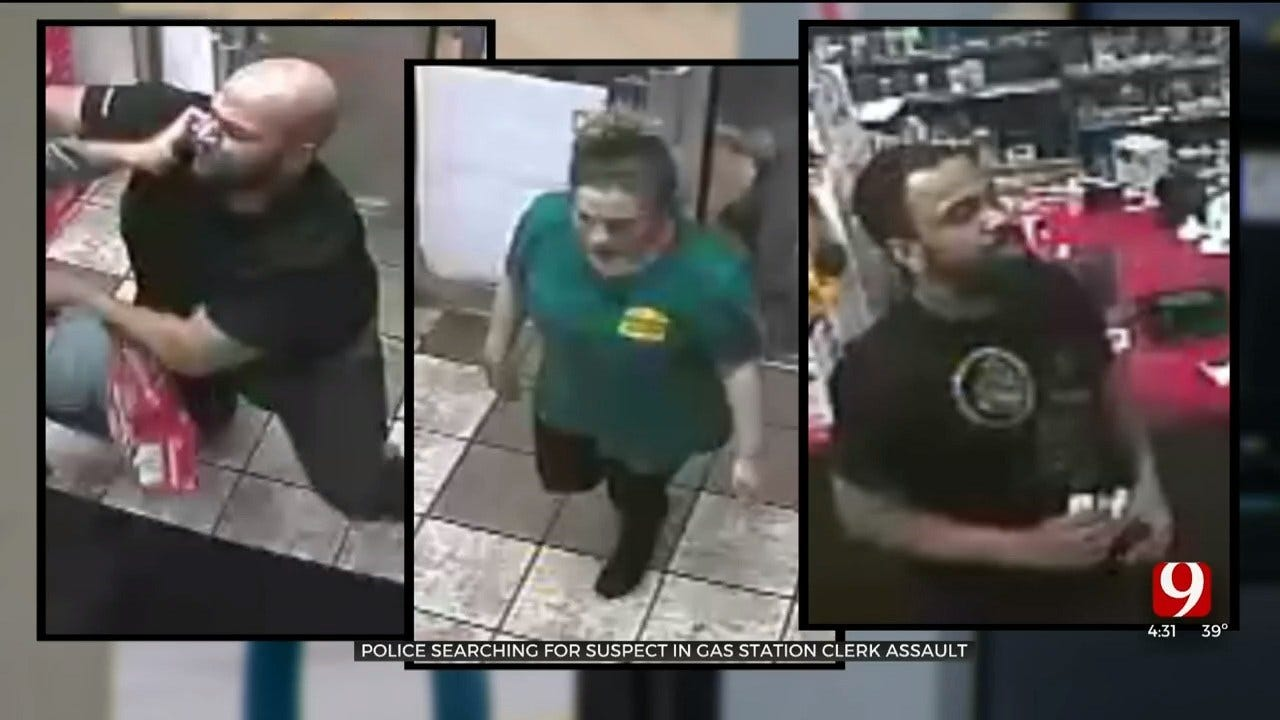 Police Searching For 3 People In Connection With Assault At NW OKC Gas Station