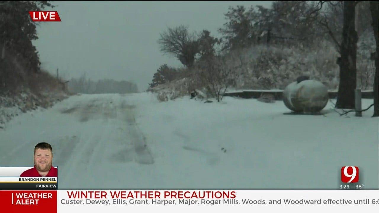 WATCH: David Payne's 3:30 P.M. Winter Weather Update