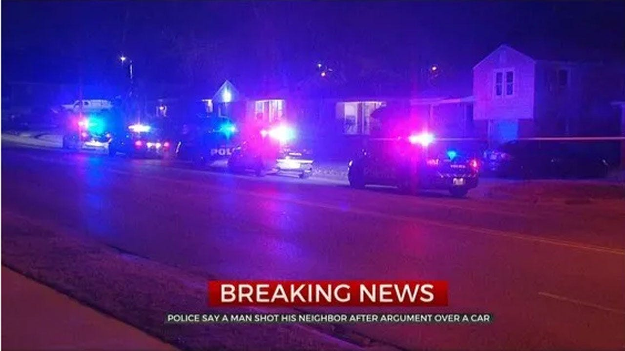 Police: Man Sent To Hospital After Being Shot By Neighbor During Argument Over Car