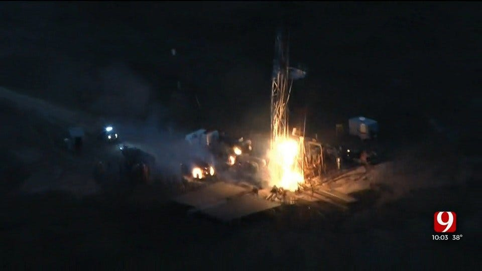 1 Dead, 3 Injured After Oil Well Explosion At Chesapeake Well Site In Texas