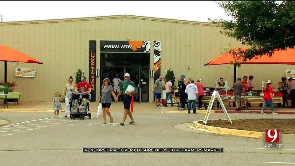 OSU-OKC Vendors Upset Over Farmers Market Closing