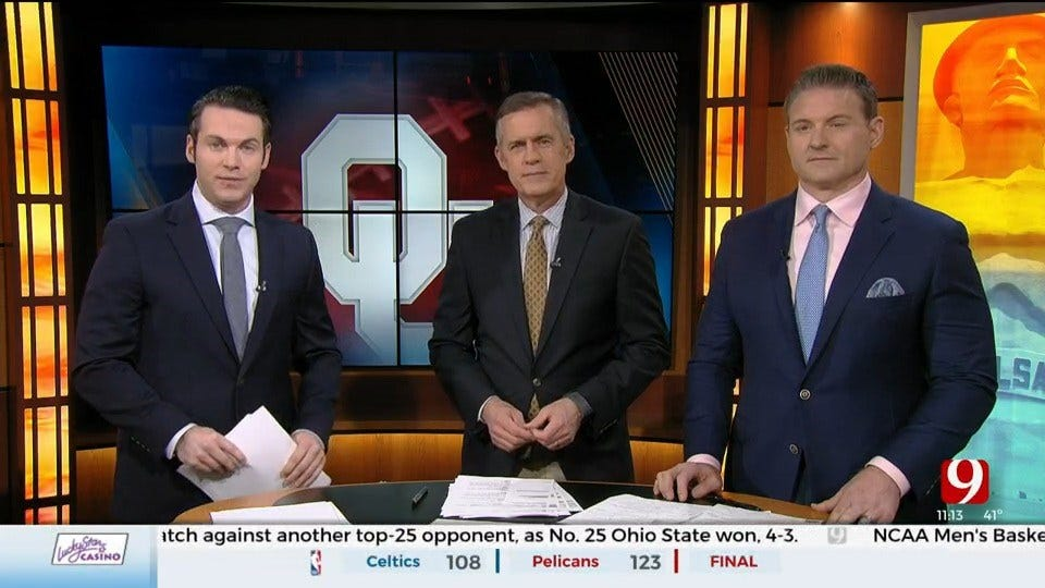 OU Football Roundtable - Ruffin McNeil, Jalen Hurts, Neville Gallimore