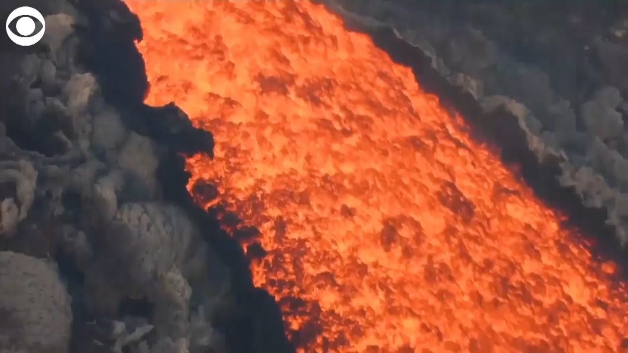 WATCH: Lava Spews From Europe's Highest Volcano