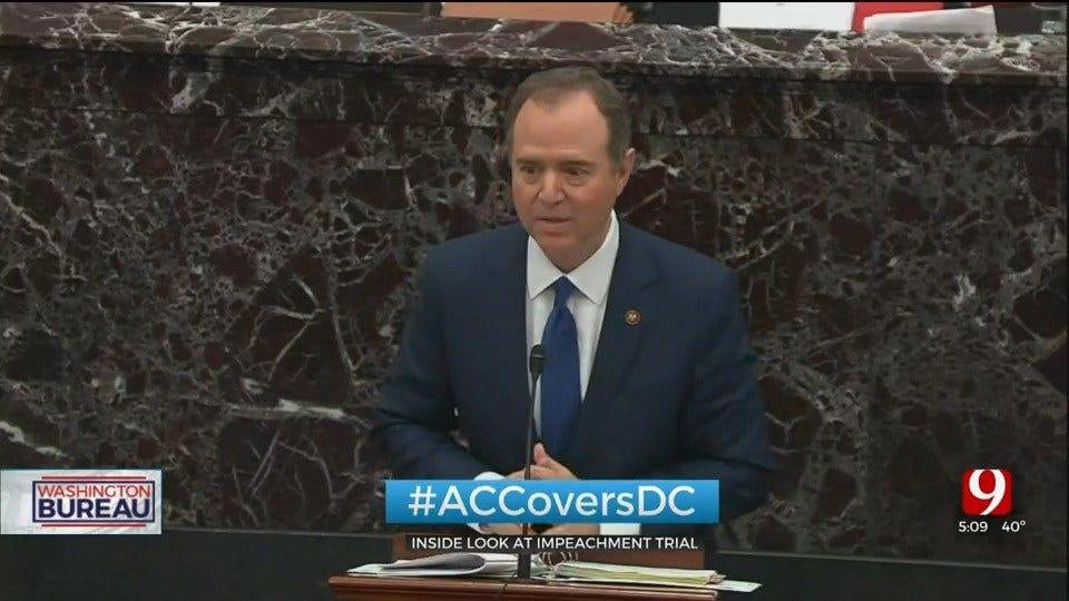 Washington Bureau Chief Alex Cameron Sits In On Impeachment Trial