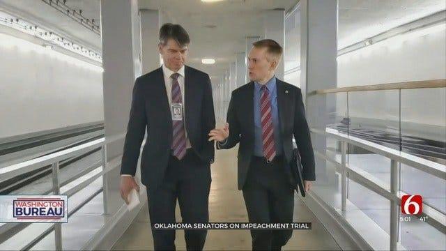 Senators From Oklahoma To Serve As Jurors In President Trump's Impeachment Trial