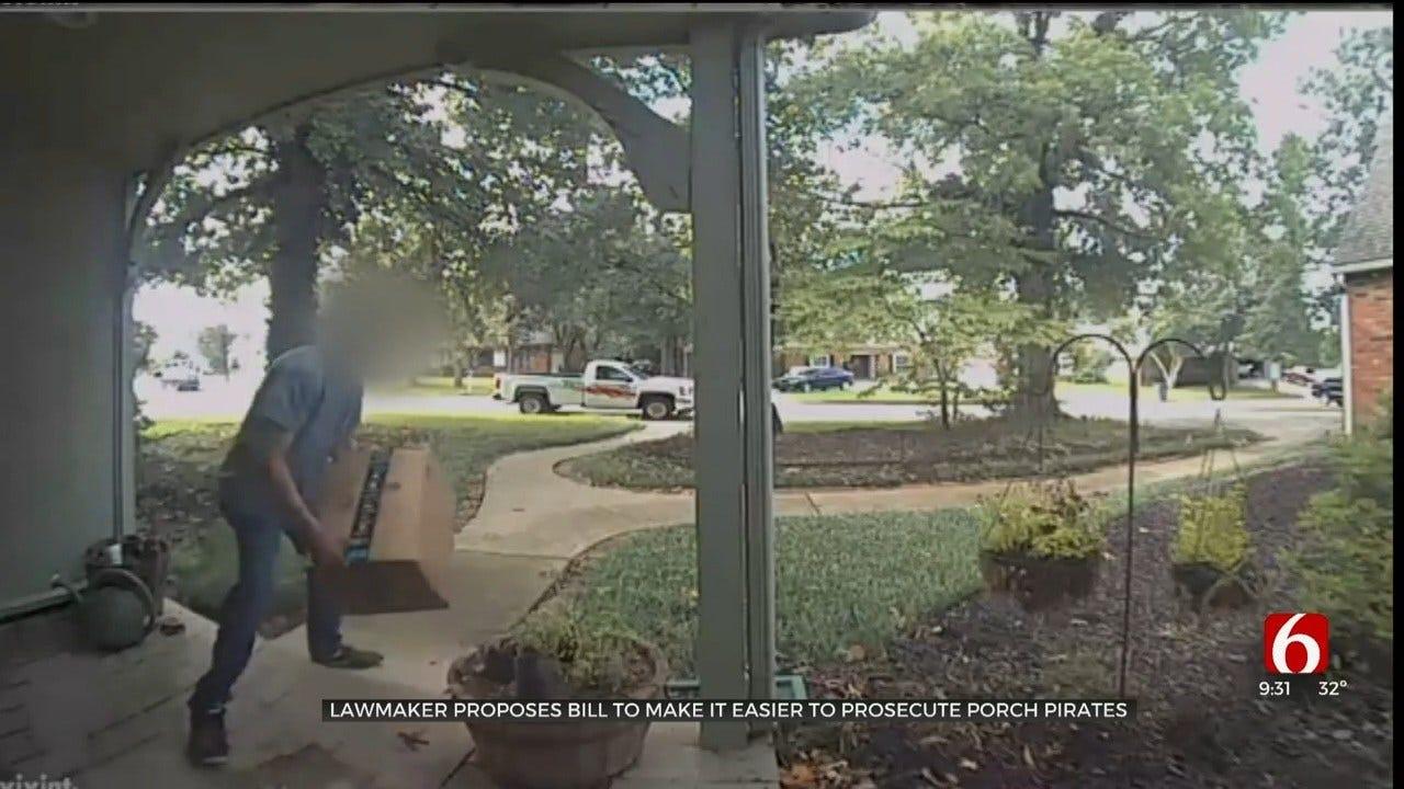 Oklahoma Politician Files Bill To Help Fight Porch Pirates