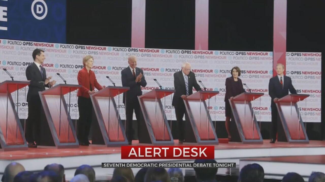6 Candidates To Face Off In 7th Democratic Debate