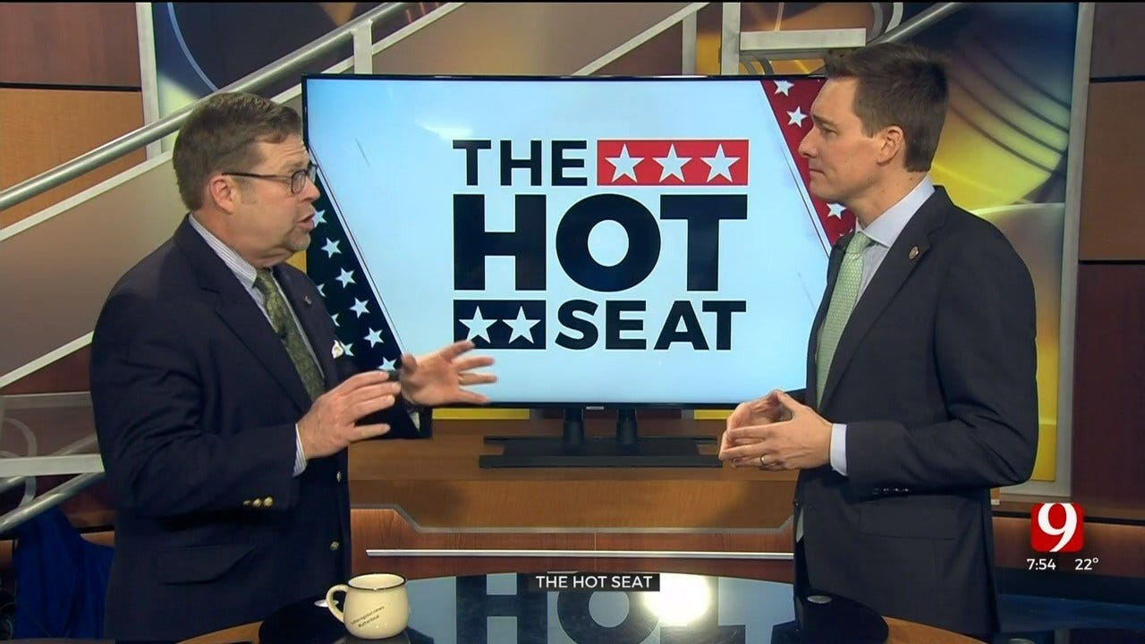 Hot Seat: Lt. Gov. Matt Pinnell Talks 'Newseum'