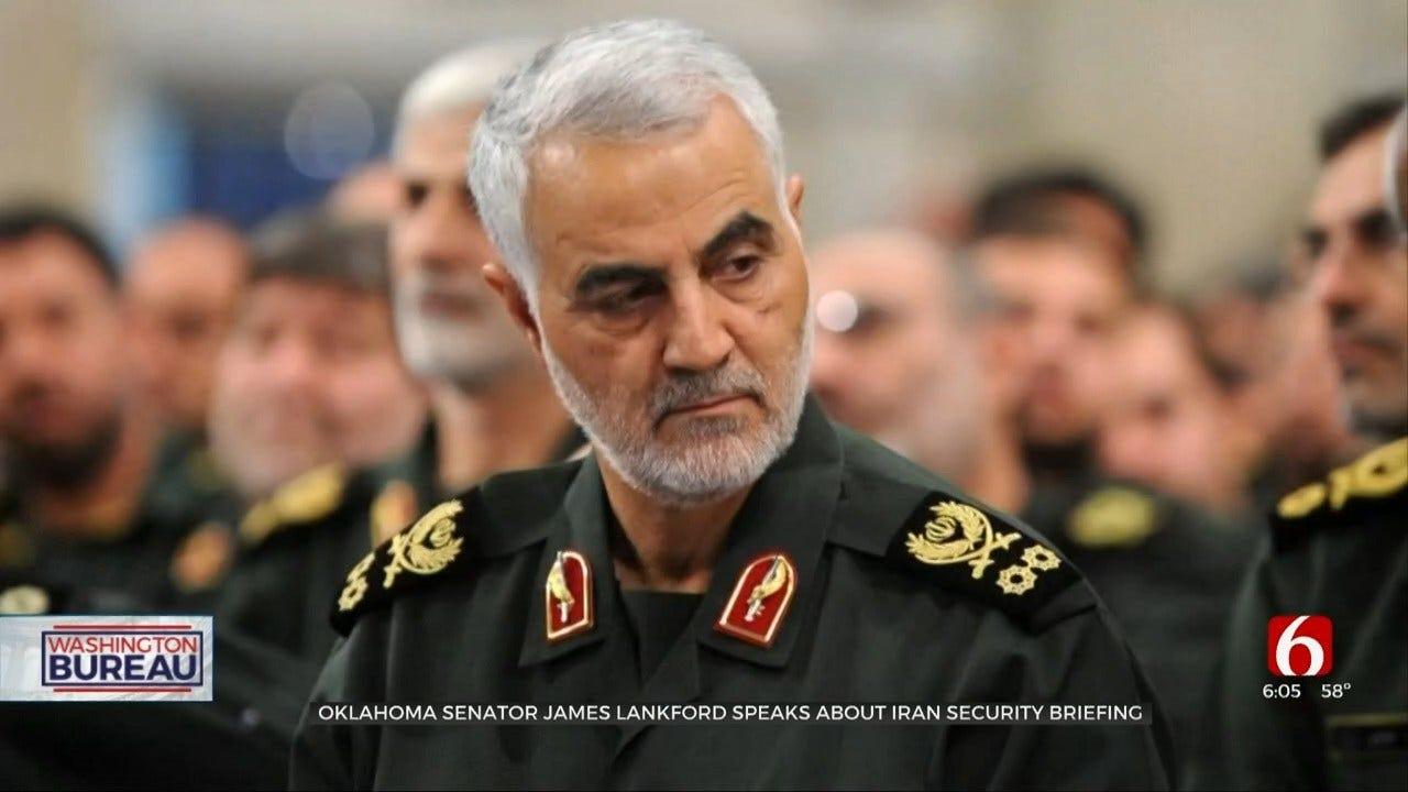 Senator James Lankford Speaks About Iran Security Briefing