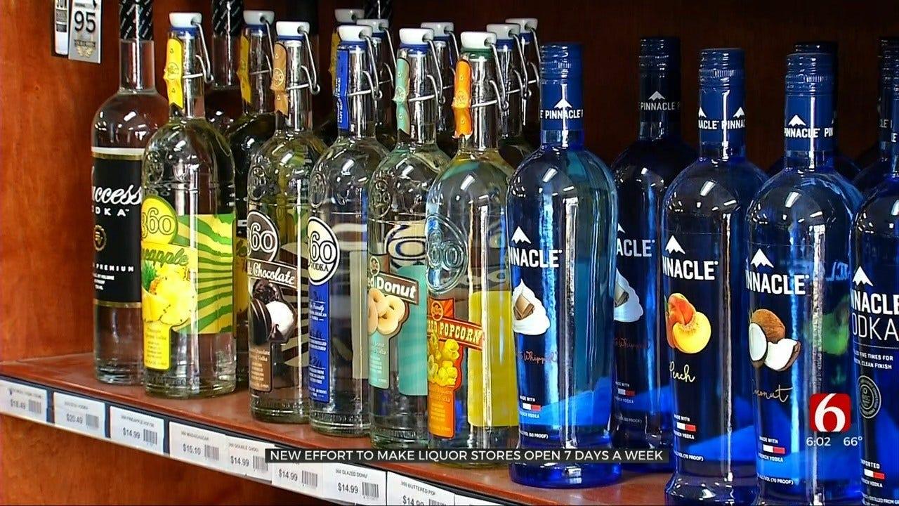Oklahoma May See Sunday Liquor Sales