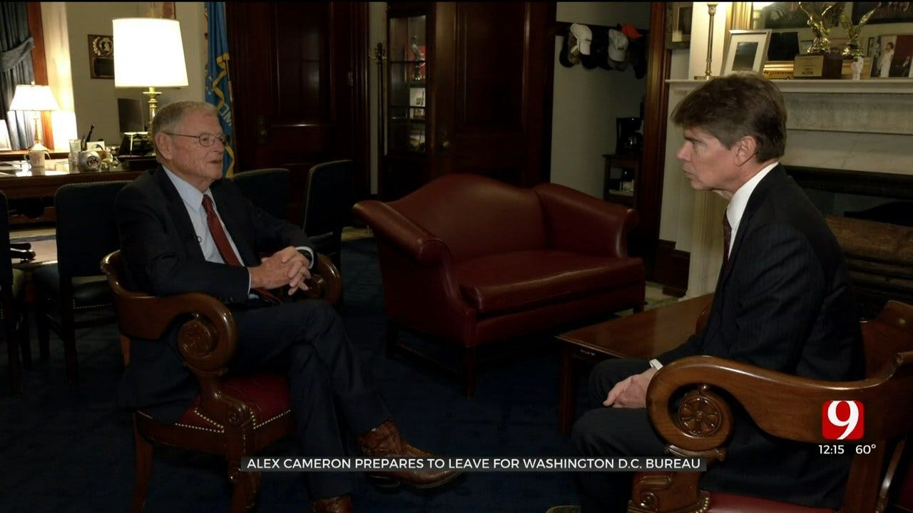 Alex Cameron Meets With Oklahoma Delegation Ahead Of Move To DC