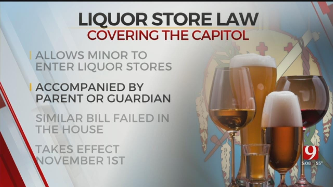 Gov. Stitt Signs Bill Allowing Minors To Enter Liquor Store With Parent, Legal Guardian