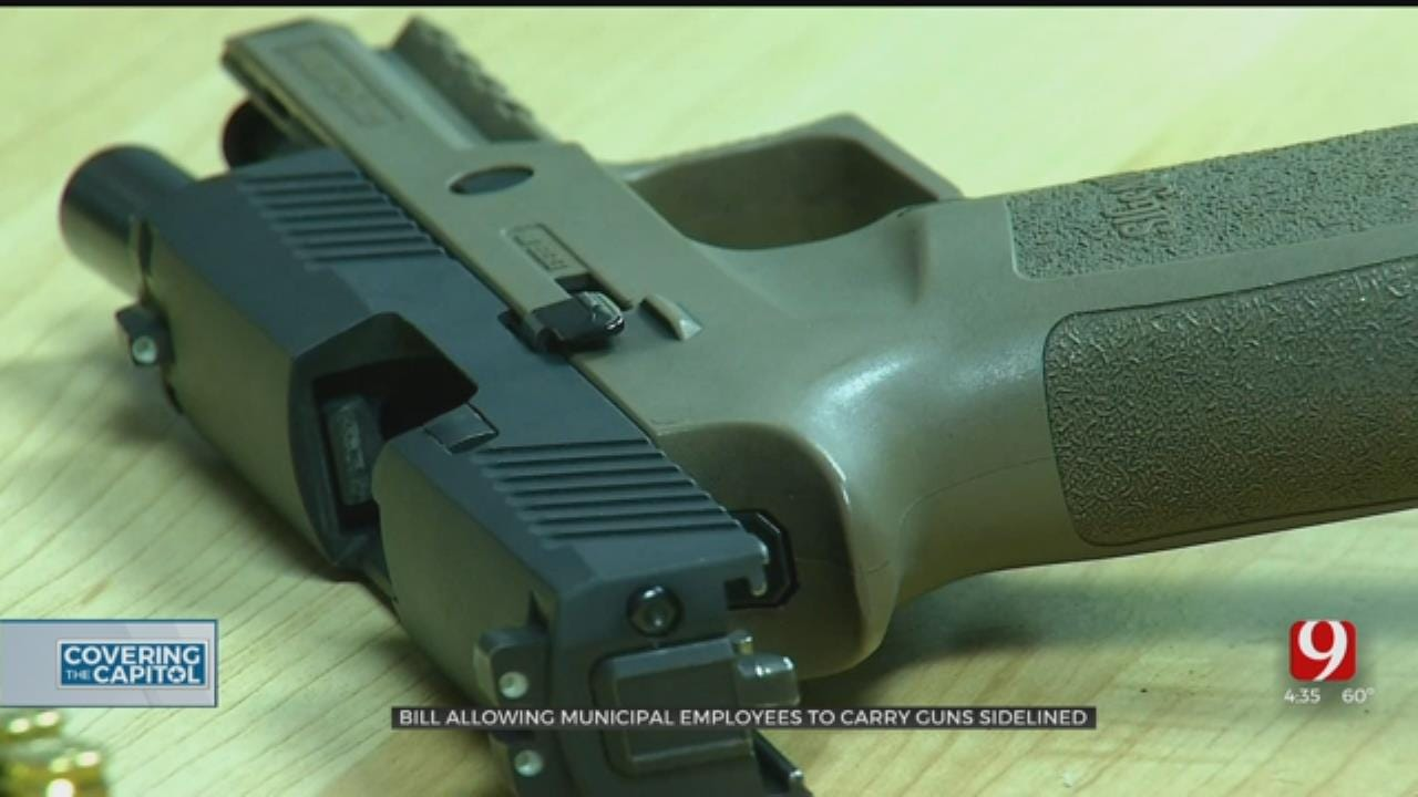 State House Shelves Bill Allowing Employees To Carry Guns On Municipal Properties
