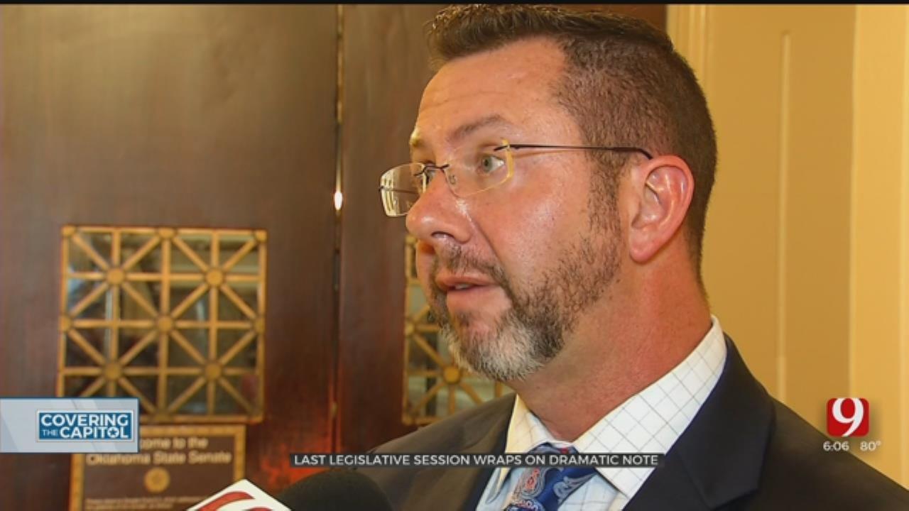 Last-Minute Drama As Legislative Session Ends