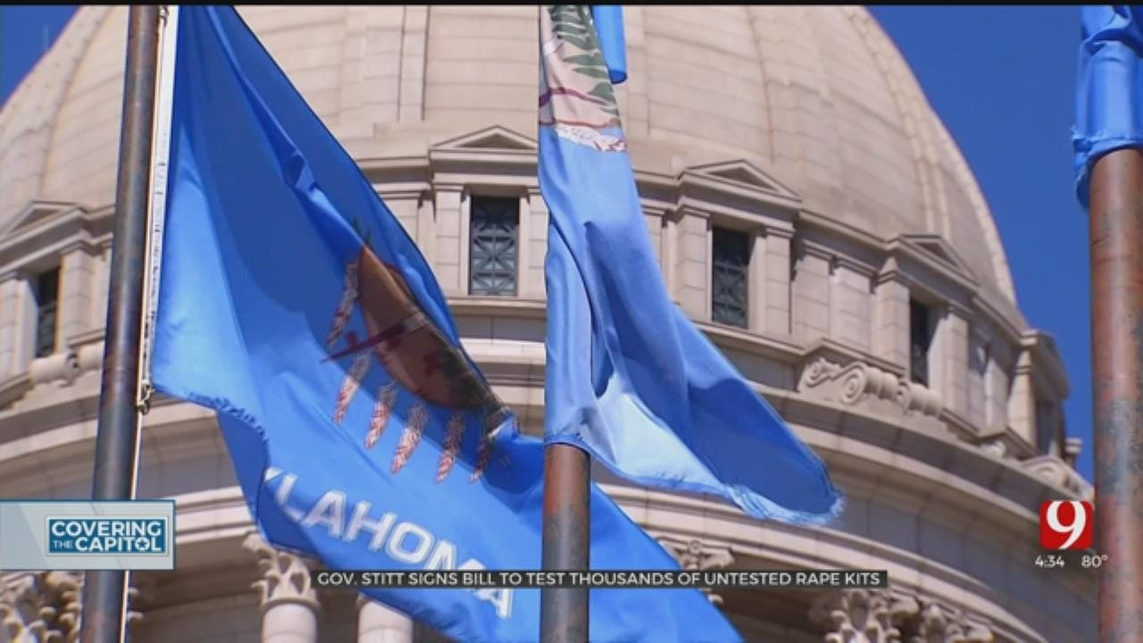 Gov. Stitt Signs Bill To Test Thousands Of Untested Rape Kits
