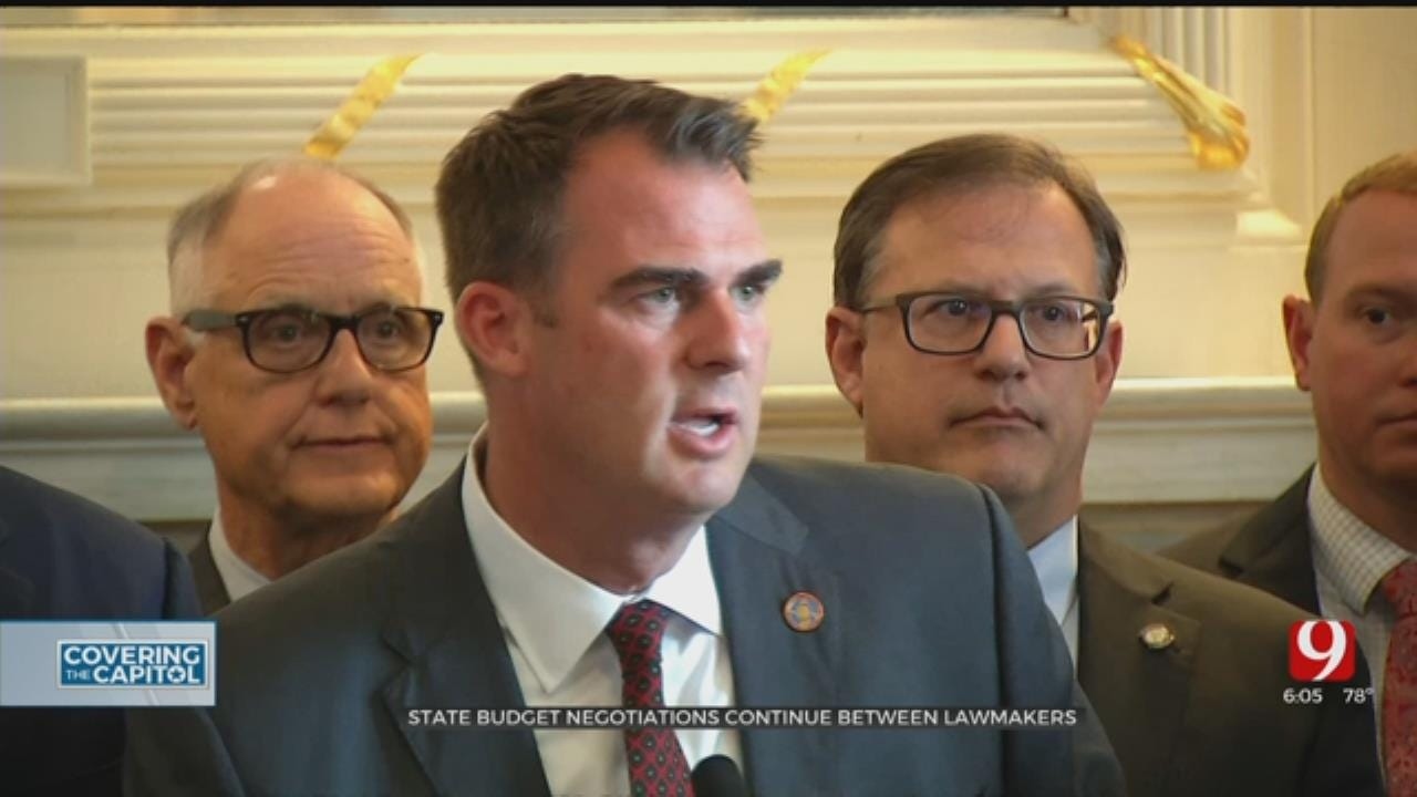 Oklahoma Lawmakers Go Public With Budget Battle
