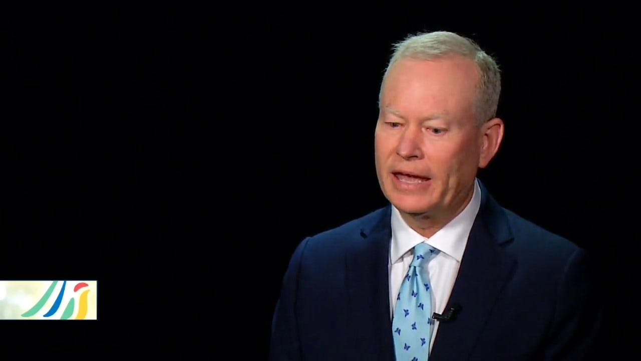 Former Mayor Mick Cornett On Importance Of Scissortail Park