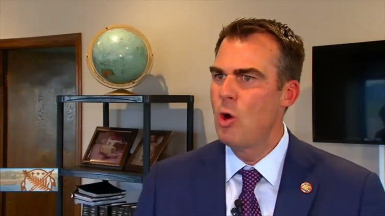 Governor Stitt: Oklahoma Is Better Than OK