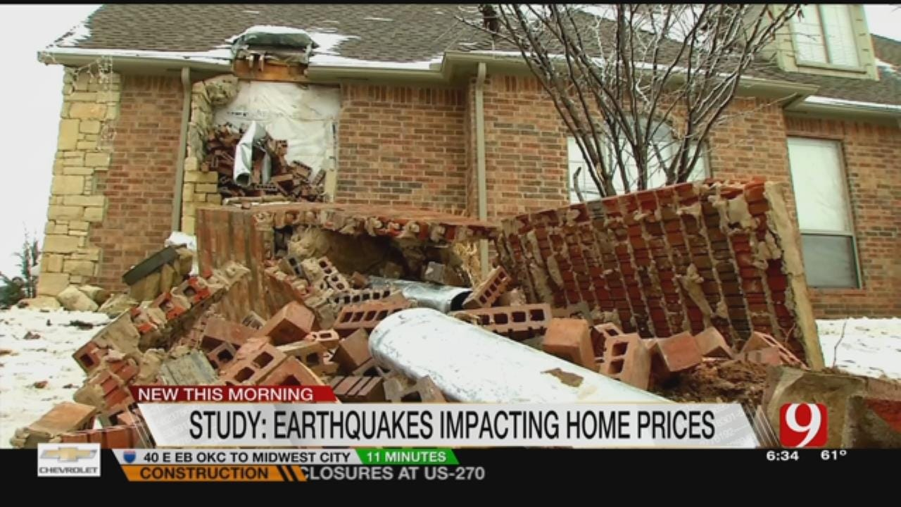 Study: Earthquakes Impacting Home Prices