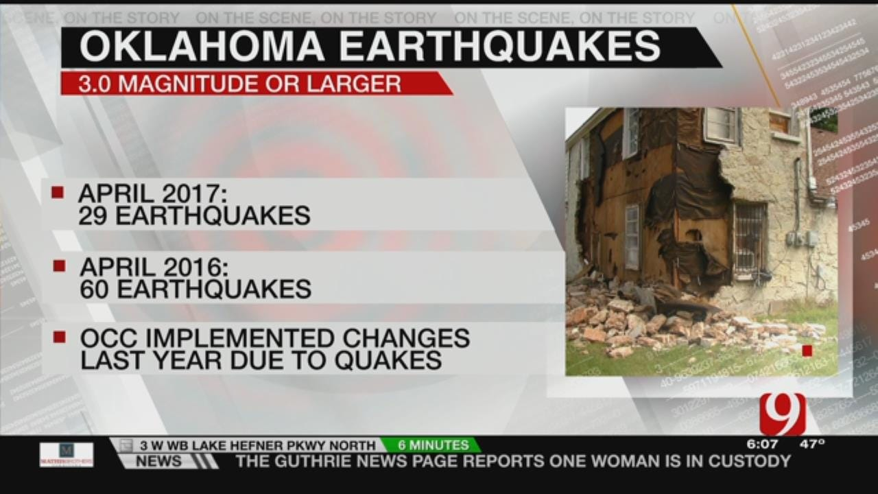 Oklahoma Shook Much Less Last Month Compared To 2016