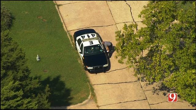 WEB EXTRA: Bob Mills SkyNews 9 Flies Over Shooting Investigation In NE OKC