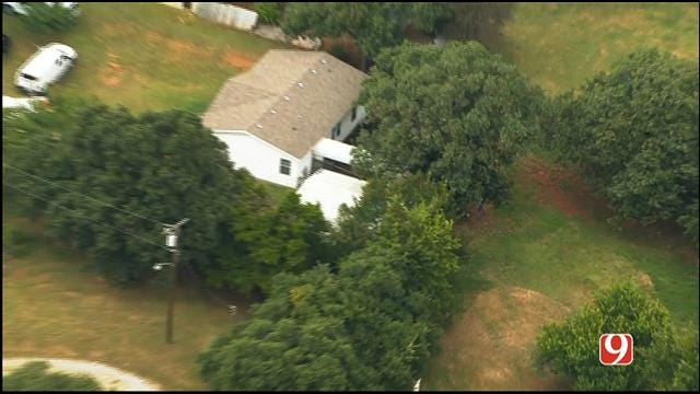 WEB EXTRA: Bob Mills SkyNews 9 Flies Over Missing Person Investigation In OKC