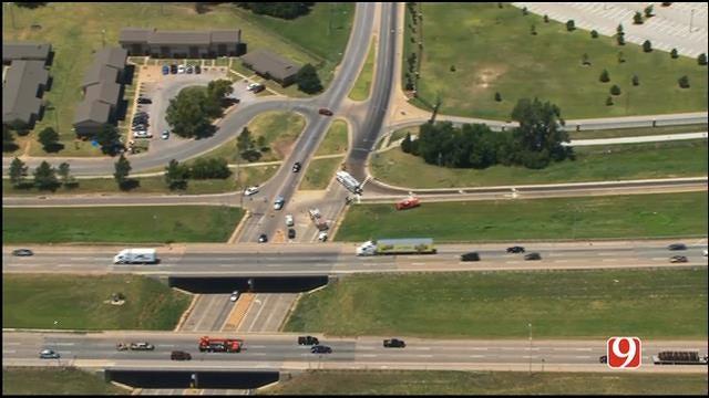 WEB EXTRA: Bob Mills SkyNews 9 Flies Over Oil Spill Near Dell Campus