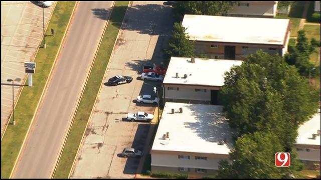 WEB EXTRA: Bob Mills SkyNews 9 HD Flies Over Shooting Investigating In OKC