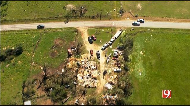 WEB EXTRA: Aerial Footage Of Tornado Damage Part II