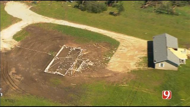 WEB EXTRA: Aerial Footage Of Tornado Damage Part I