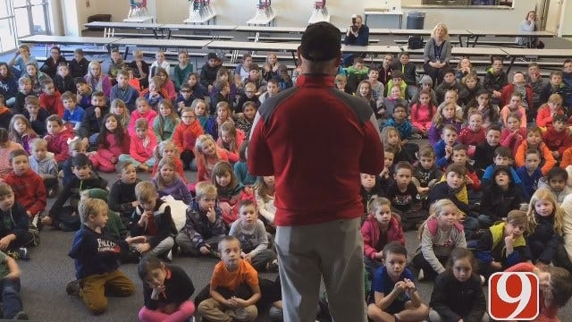 Jim Gardner Visits Southwest Covenant Elementary