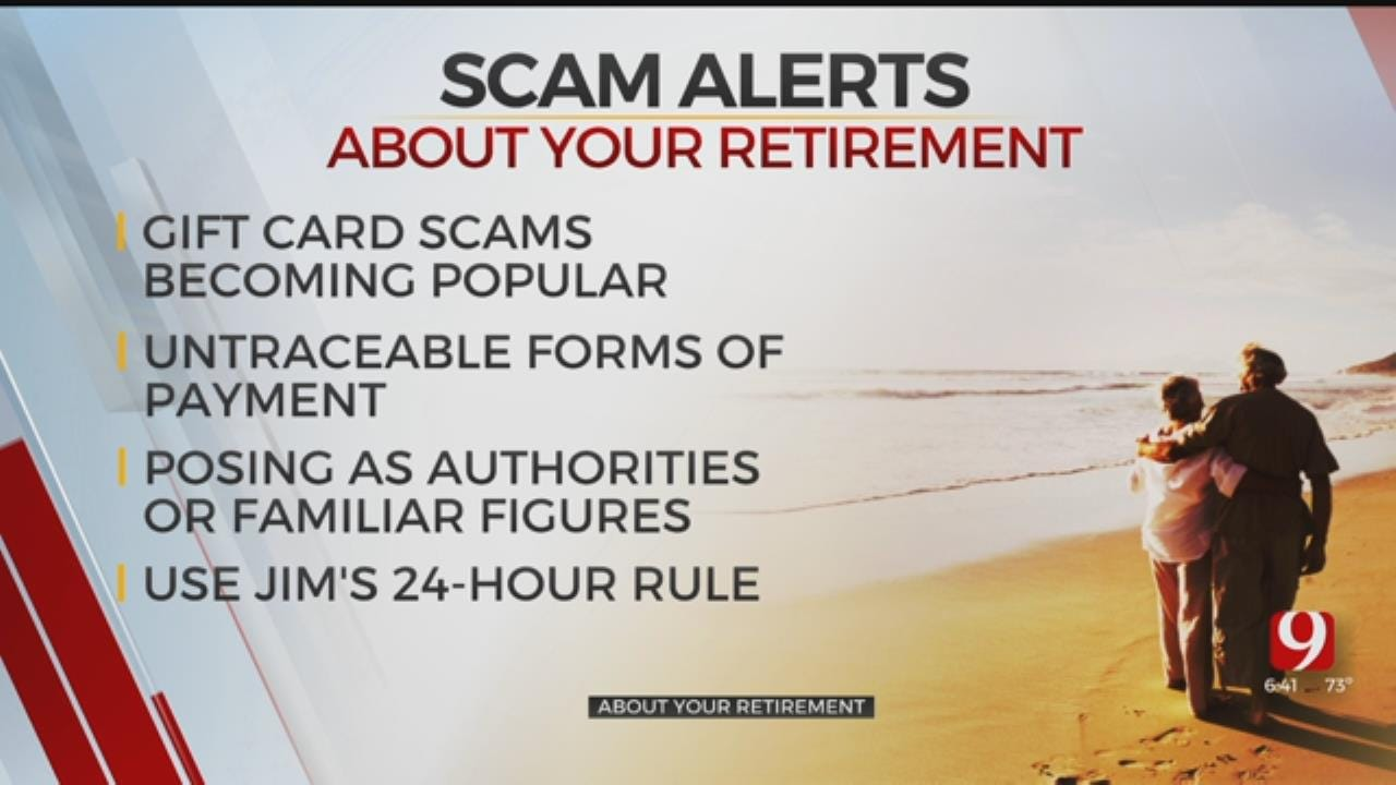 About Your Retirement: Scams, Payment, 24-Hour Rule
