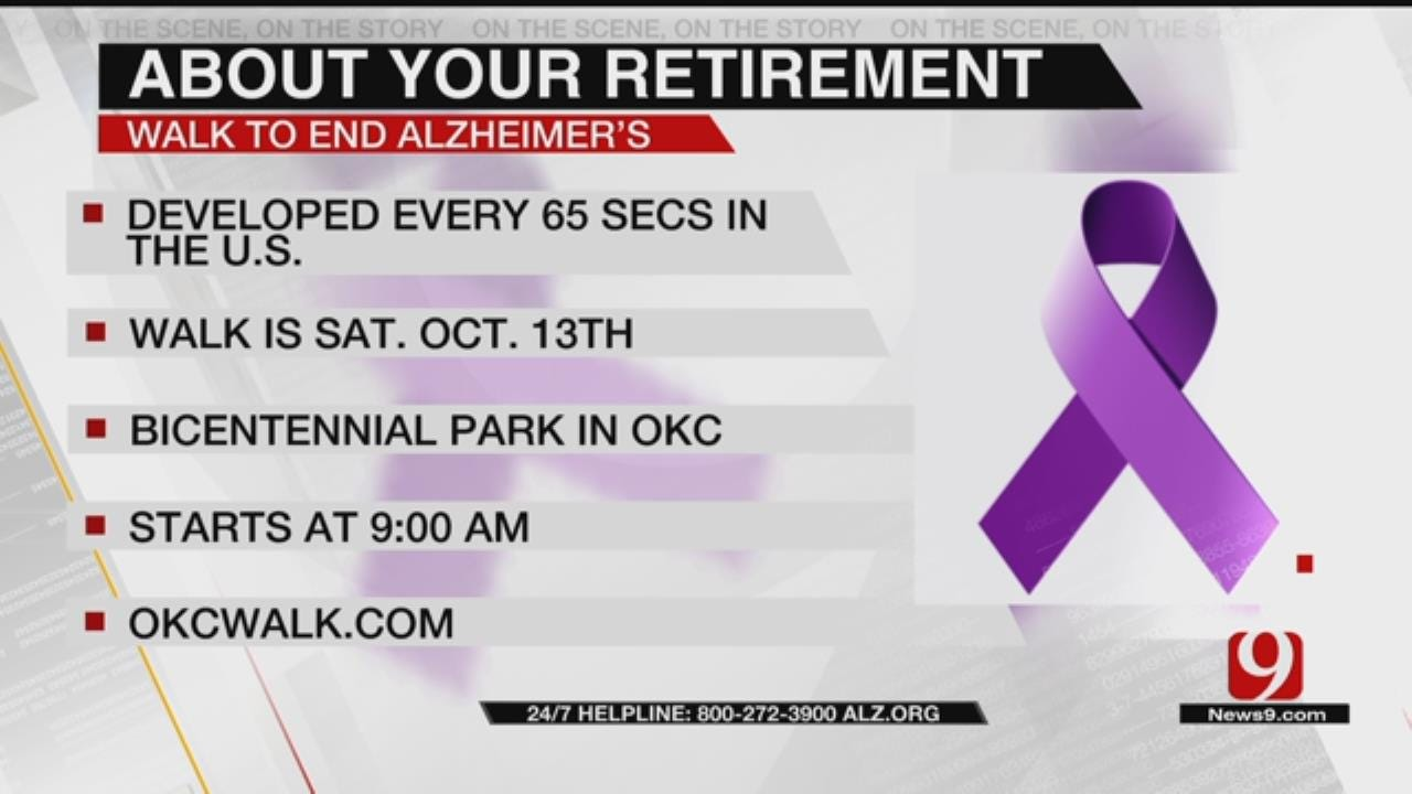 About Your Retirement: 2018 Walk To End Alzheimer's - OKC